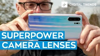 Huawei P30 Pro Hands-On Review: Superpower Camera Lenses