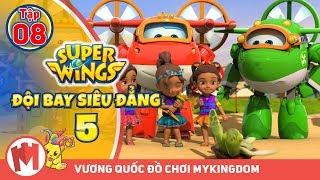 ĐỘI BAY SIÊU ĐẲNG - Phần 5 | Tập 8 : Tận hưởng niềm vui ở Philippines - Phim hoạt hình Super Wings