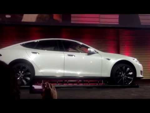 Closeup of Tesla Battery Swap (HD)