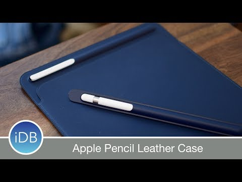 Apple's New Leather Case for Apple Pencil Prevents Rolling & Broken Tips