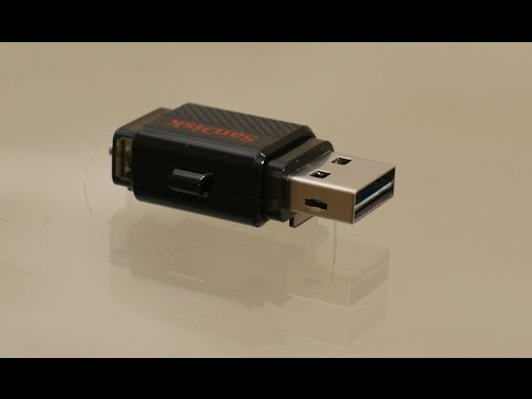 Sandisk Ultra Dual pendrive review - with built in OTG support