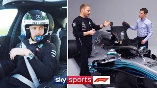 What does g-force feel like in an F1 car? | Valtteri Bottas Driving Masterclass