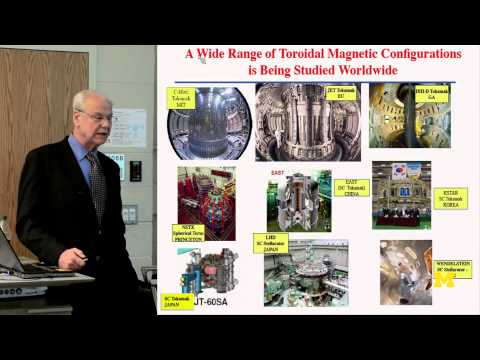 MIT Pro. Miklos Porkolab, Worldwide Progress Nuclear Fusion Energy | MconneX | Lectures On-Demand