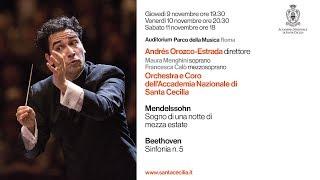 Beethoven, Sinfonia n. 5 - 9/10/11 novembre 2017 - Andrés Orozco-Estrada