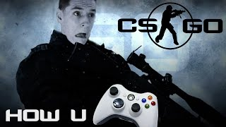 how to connect ps4 controller to pc to play csgo