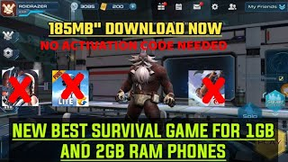 New Survival Game for 1Gb and 2gb ram Phones | Xiaomi Survival game Review