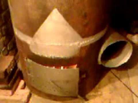 Чудо печь на дровах  видео