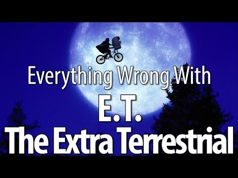 Cover Lagu Everything Wrong With E.T. the Extra Terrestrial