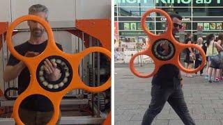 World's Largest Fidget Spinner