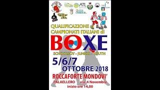 SORTEGGI Torneo di Qual. Campionati Italiani Schoolboy-Junior-Youth 2018
