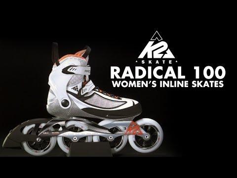 Inline Skates k2 Moto 100 Quot The k2 Radical 100 Inline