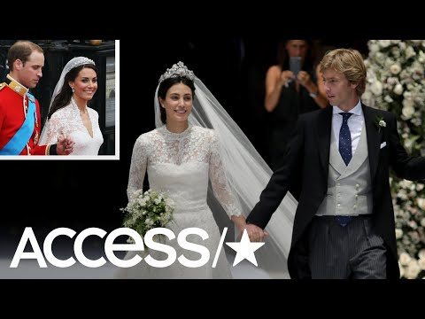 Royal Bride Channels Kate Middleton At Her Wedding | Access