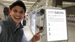 Narita Airport Gachapon Yen Coin Dump