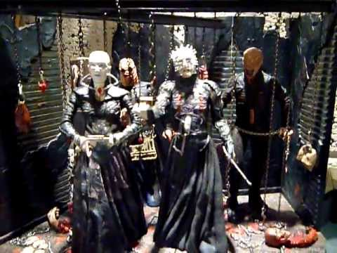 Neca Hellraiser Cenobite Lair And Figures Collection video