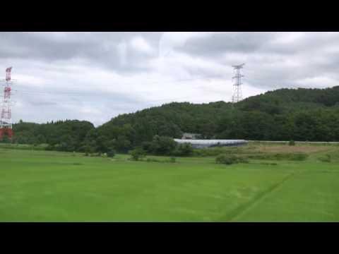 山形新幹線つばさ号 【側面展望 12】 中川⇒羽前中山