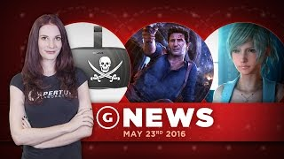 Final Fantasy XV Development Hurdles & Oculus Rift Accidentally Enables Piracy? - GS Daily News