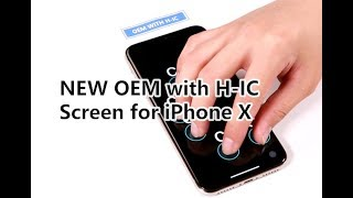 Screen Test: New OEM with H-IC Screen for iPhone