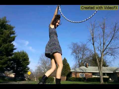 Flume- Space Cadet (hoop dance)