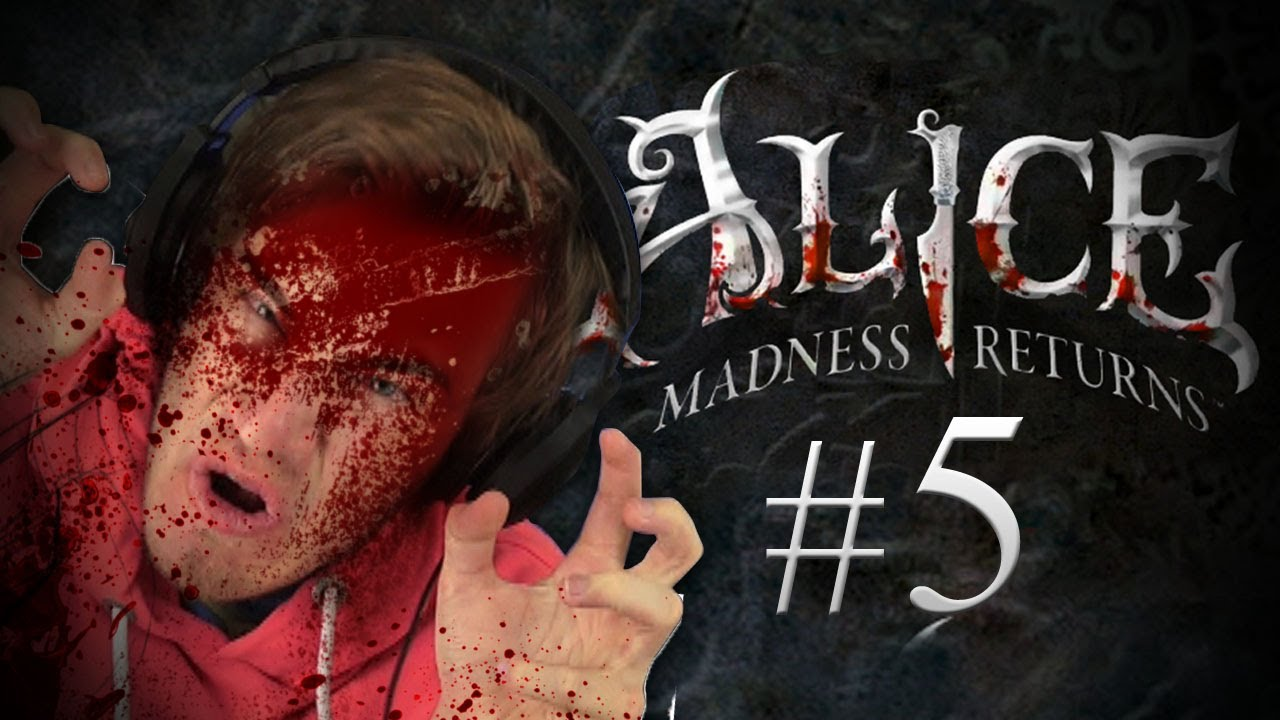 Pewdiepie plays Alice: The Madness Returns - Part 5