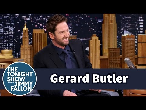 Gerard Butler and Jimmy Compare NASCAR Grand Marshal Skills