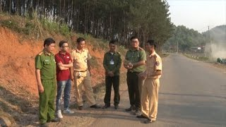 Công an tỉnh Sơn La làm rõ thông tin về việc phương tiện cán phải đinh trên quốc lộ 37