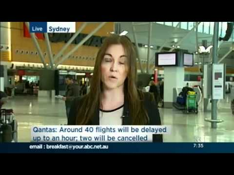 Qantas management denies strikes are their fault