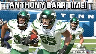 Anthony Barr Becomes a Legend! Madden 20 MUT Squads