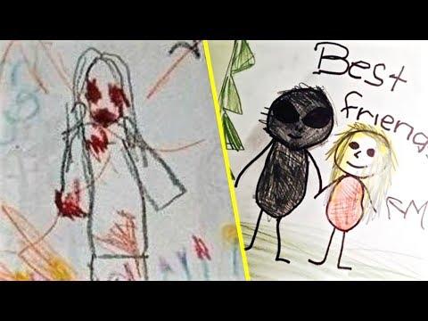 Los Dibujos Mas Escalofriantes Hechos Por Niños