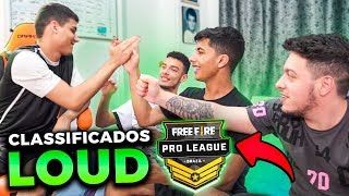 CONSEGUIMOS!! LOUD CLASSIFICADA NA FINAL DA PRO LEAGUE DE FREE FIRE!!
