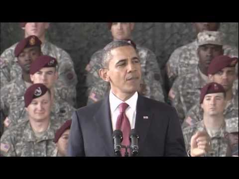 OBAMA Declares The End of Iraq War FULL UNCUT SPEECH 12/14/2011 (HD)