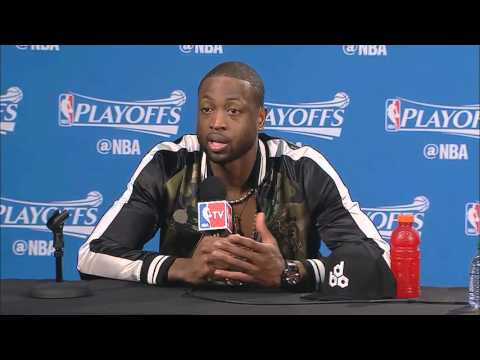 Dwyane Wade -- Miami Heat vs. Toronto Raptors Game 1 postgame 5/3/2016