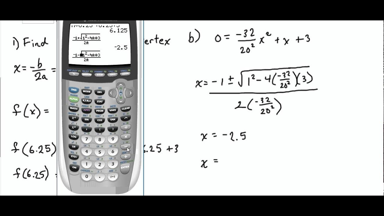 how to find the maximum of a quadratic function