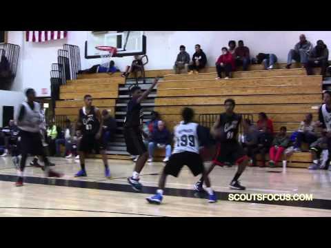 """Team9 #80 Jaylen Lewis 6'3"""" 160 2016 Brooke Point High School  VA"""