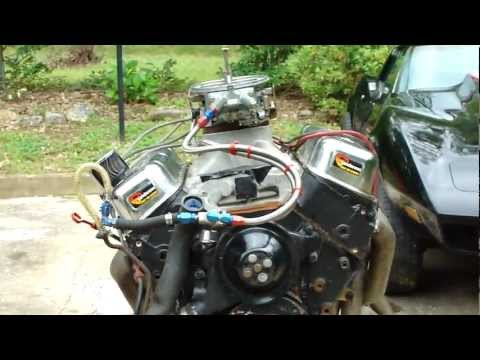 BAD ASS 468 BIG BLOCK CHEVY ENGINE START UP*CRAZY CAM* INSANE EXHAUST* HOLY SH*T REDNECKS