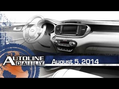 Sorento Interior Teased, Most Vulnerable Cars to Hack - Autoline Daily