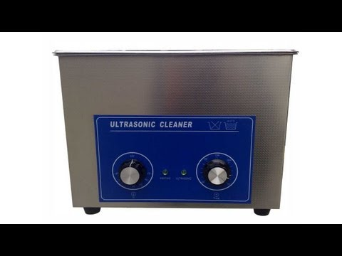 Ultrasonic Cleaner with Mechanical Timer