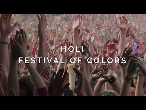 Holi. Festival of Colors. 2012