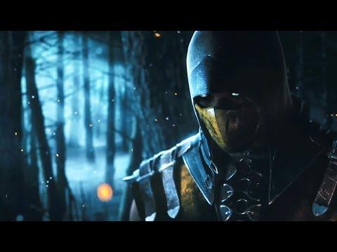 Mortal Kombat X Trailer Scorpion vs Sub Zero PS4 Xbox One Mortal Kombat 10