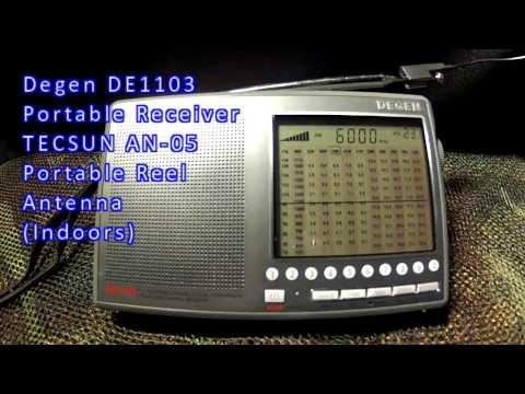 SWL Radio Havana Cuba 6 Sept 2015 0601z 6000khz  Degen DE1103 Receiver