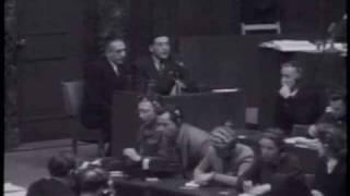 """Nuremberg Day 69-Fuckin """"Tall Tales"""" Kike Liar Samuel Rajzman"""