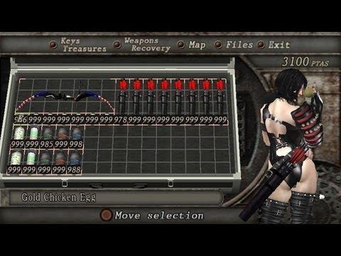 Resident evil 4 mod HD (Shinobi girl vs titan joker) + chessire cat+new bow