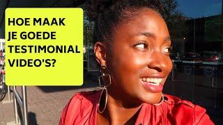 HOE MAAK JE GOEDE TESTIMONIALS?