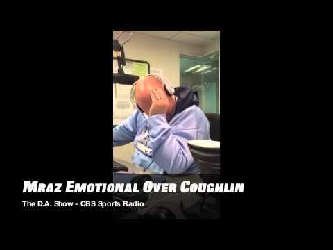Mraz Gets Emotional Over Tom Coughlin - CBS Sports Radio - The D.A. Show