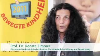 Prof. Dr. Renate Zimmer über Bewegtes Lernen