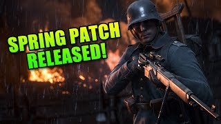 Battlefield 1 Spring Patch Released! - Is It Any Good?