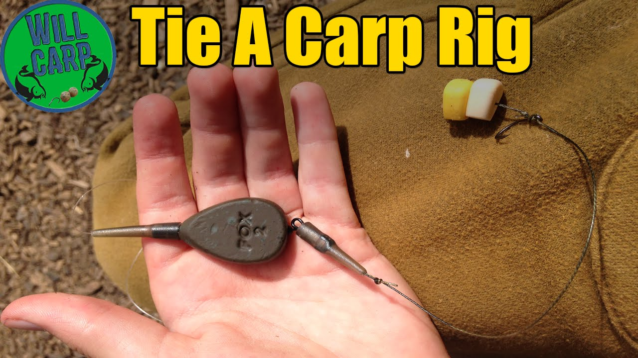 How To Tie A Carp Fishing Rig 2016