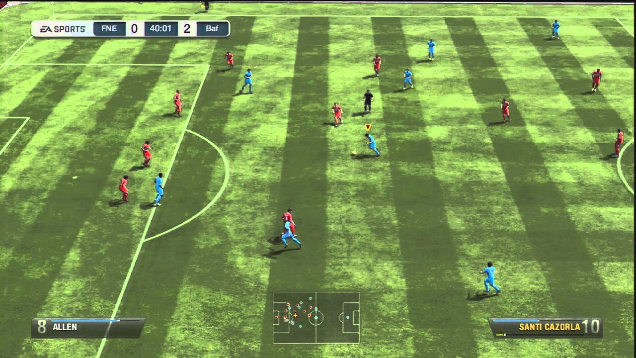 FIFA 13 Tutorial: Power finishing (18 yards+) - YouTube
