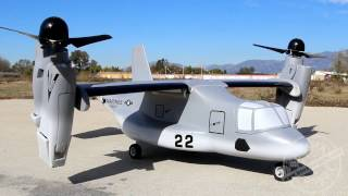 VTOL V-22 Osprey RC Model at Banana Hobby!