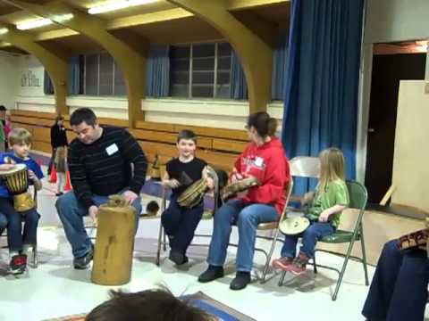 Drumming Part I - Family Night 2013 at Most Precious Blood Catholic School