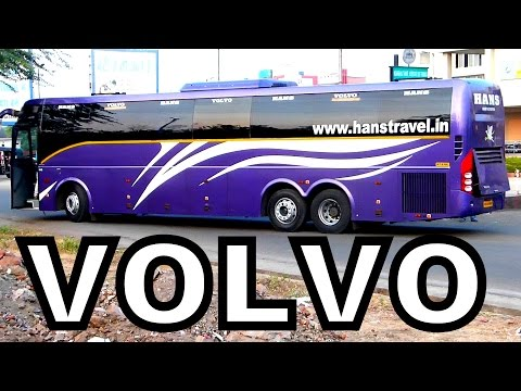 VOLVO  B11R  and B9R Multi AXLE BUSES FROM BHOPAL INDIA !!